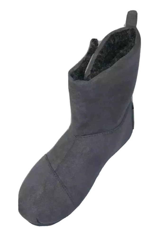 Shoes Of Soul Toddler Kids Slip On Boots Size 10 Gray on Gray G1988-33