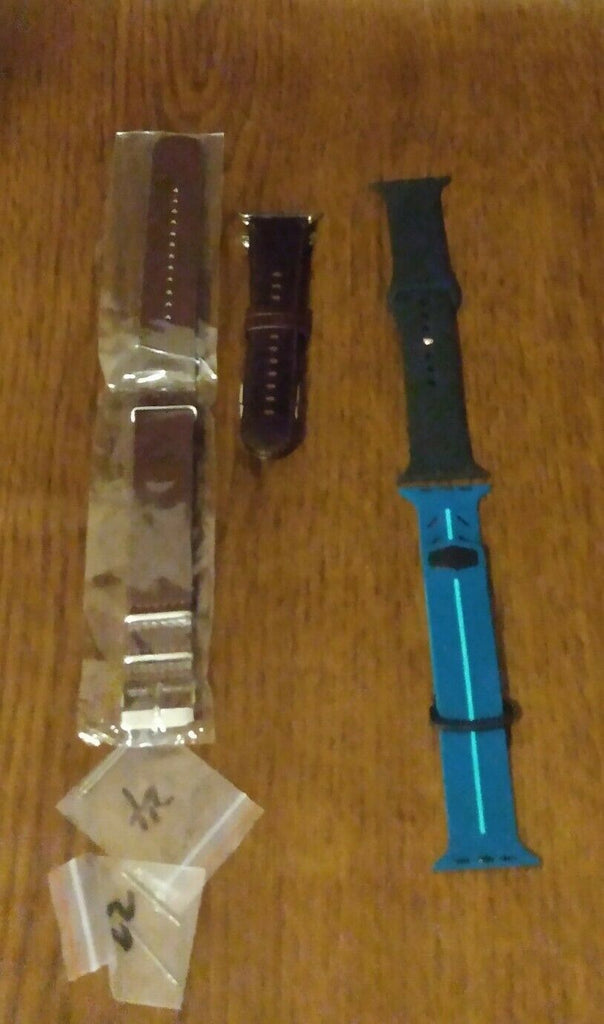Lot of 4 Assorted Watch Bands Unbranded