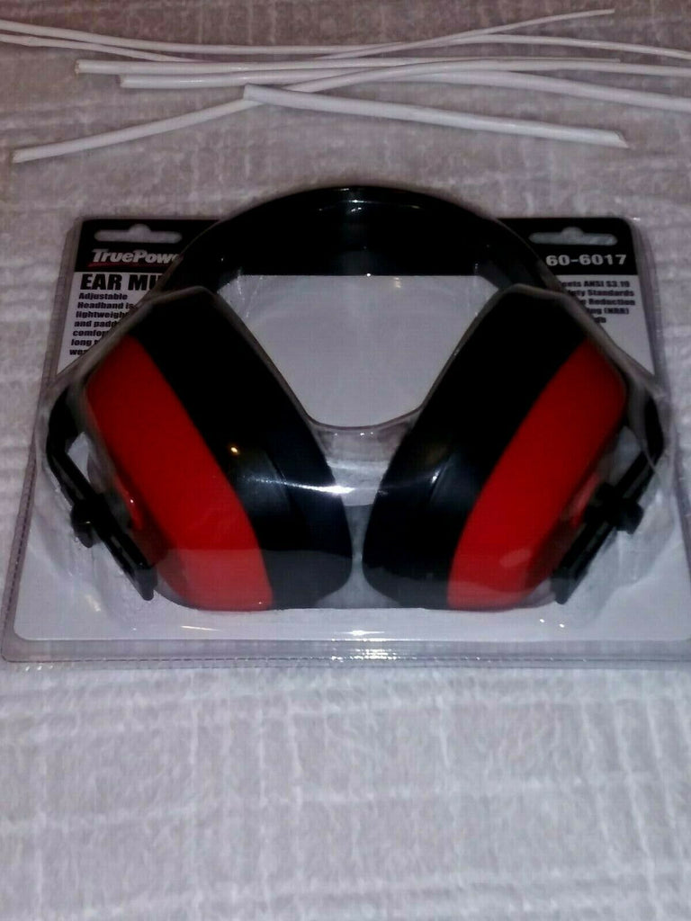 True Power Ear Muff Hearing Peotection New