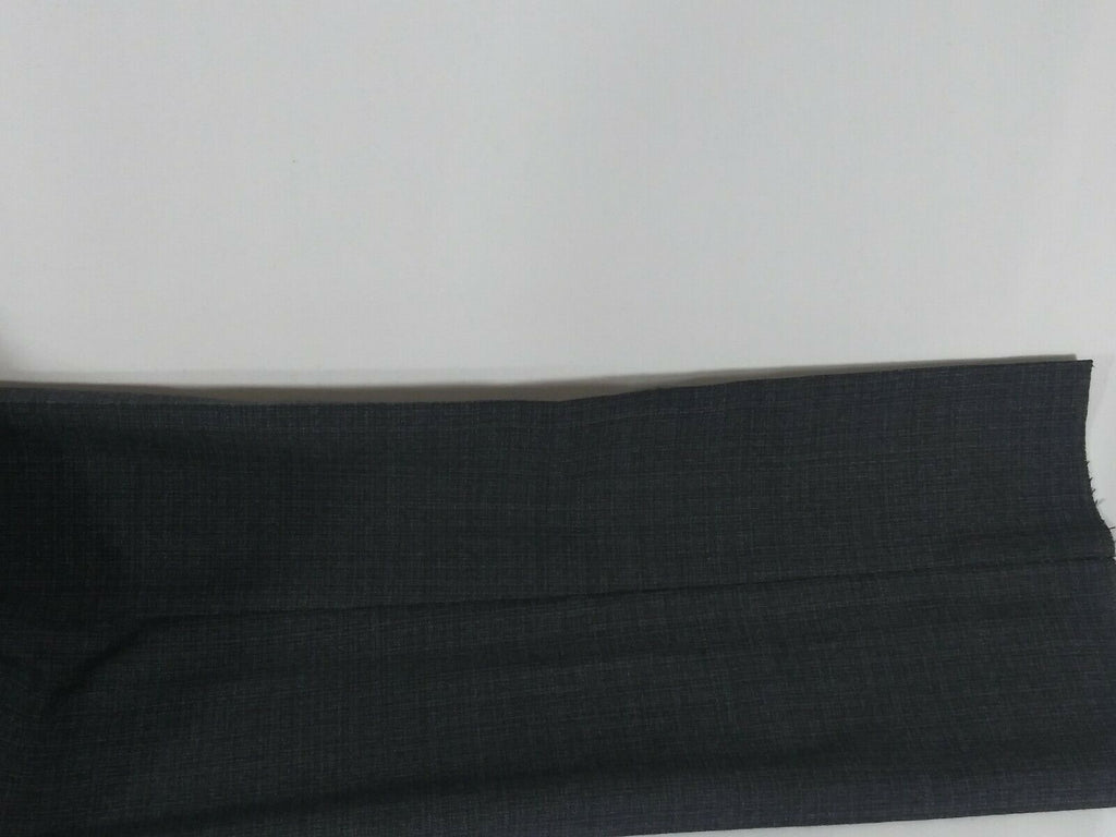 Zanella Curtis Men's Flat Front Unhemmed Stretch Wool Dress Pants Size 34 - Gray
