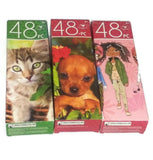 3 Kitten Toy Terrier Girl Friends 48 Piece Jigsaw Puzzles Family Fun Education