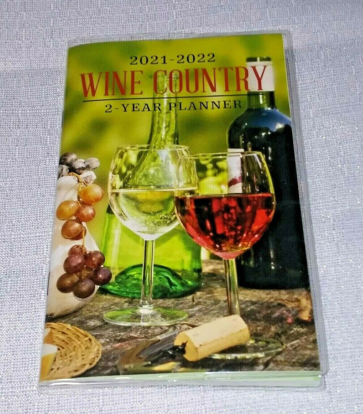 Greenbrier 2021 - 2022 Wine Country 2 - Year Planner Monthly View Calendar - STEPSHEY