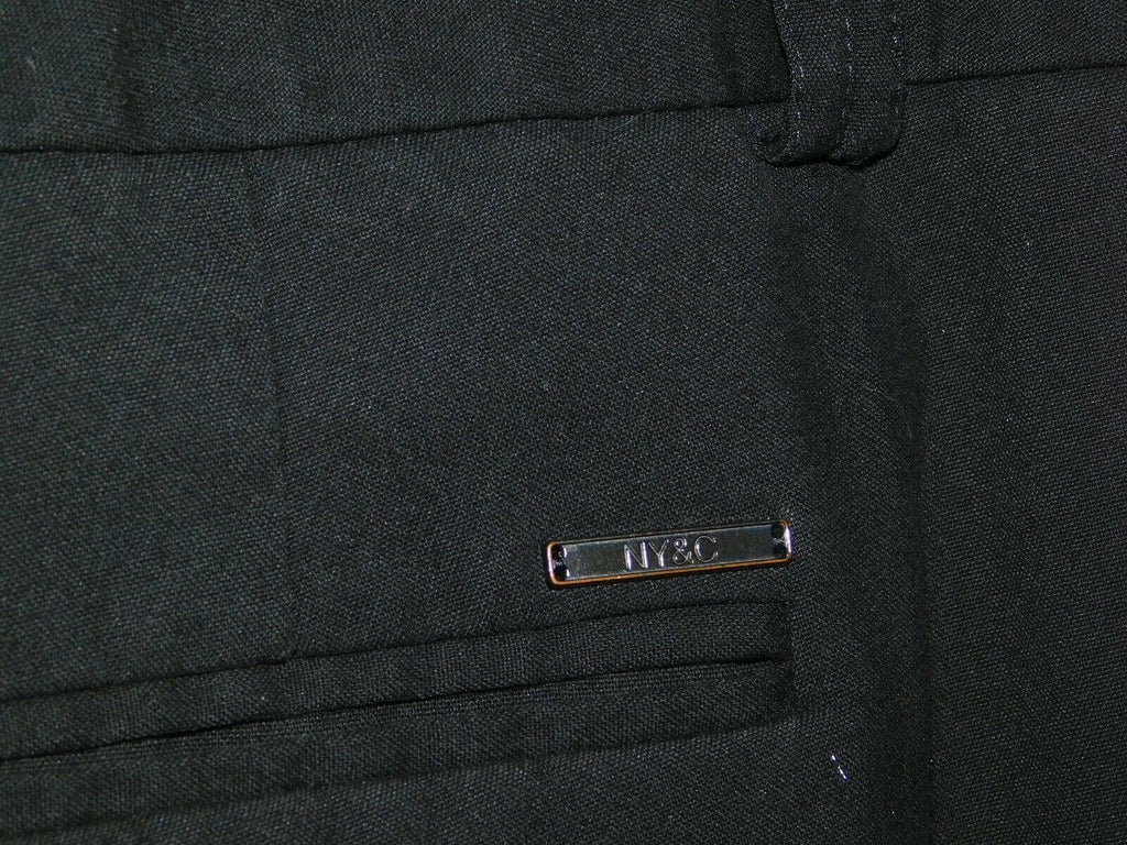 New York & Company Stretch Average Size 2 Dress Pants Double Loop Black