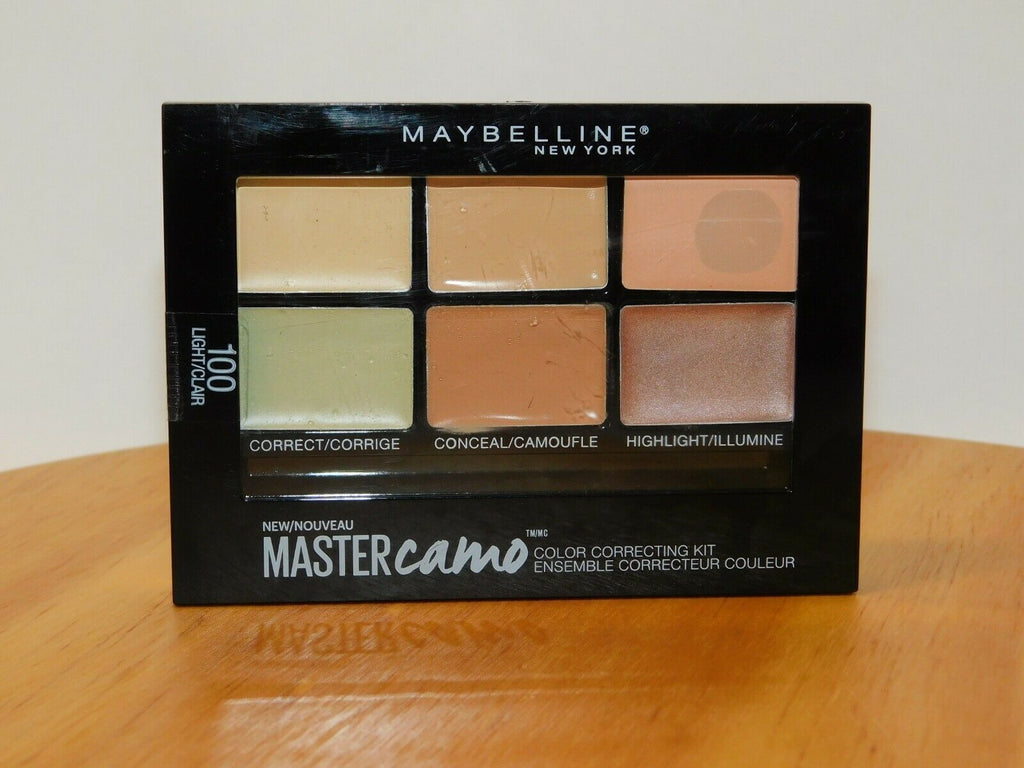 Maybelline Face Studio Master Camouflage Palette 100 Light 0.21 Oz
