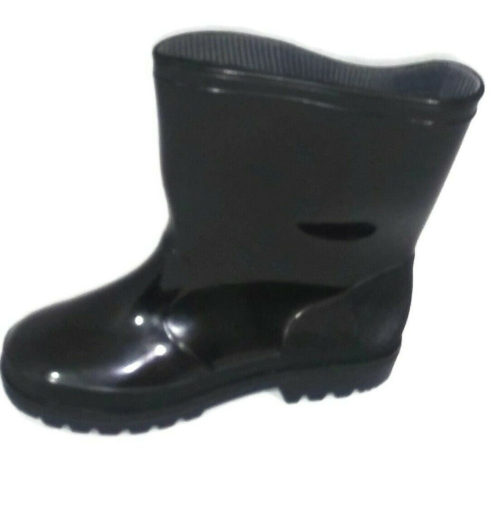 Shoes Of Soul Girls' Kids Children Rubber Rain Boots Size US-11/12 - STEPSHEY