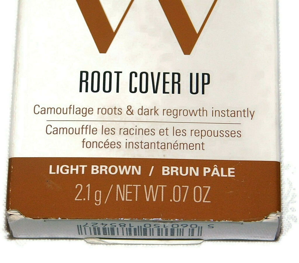 Wow Color Root Cover Up Light Brown - 0.07 Oz - Instant Camouflage Roots & Dark
