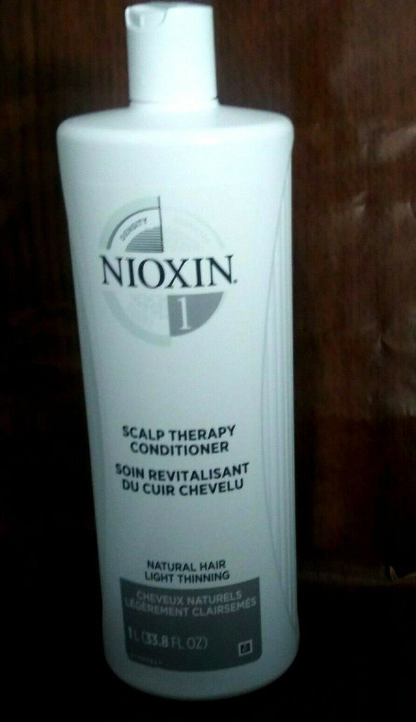 Nioxin Density 1 Scalp Therapy Conditioner Natural Hair Light Thinning 33.8 OZ