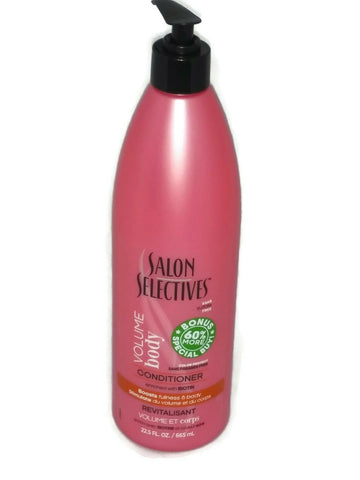 Salon Selectives Volume & Body With Biotin Color Protect Conditioner 22.5 FL OZ - STEPSHEY
