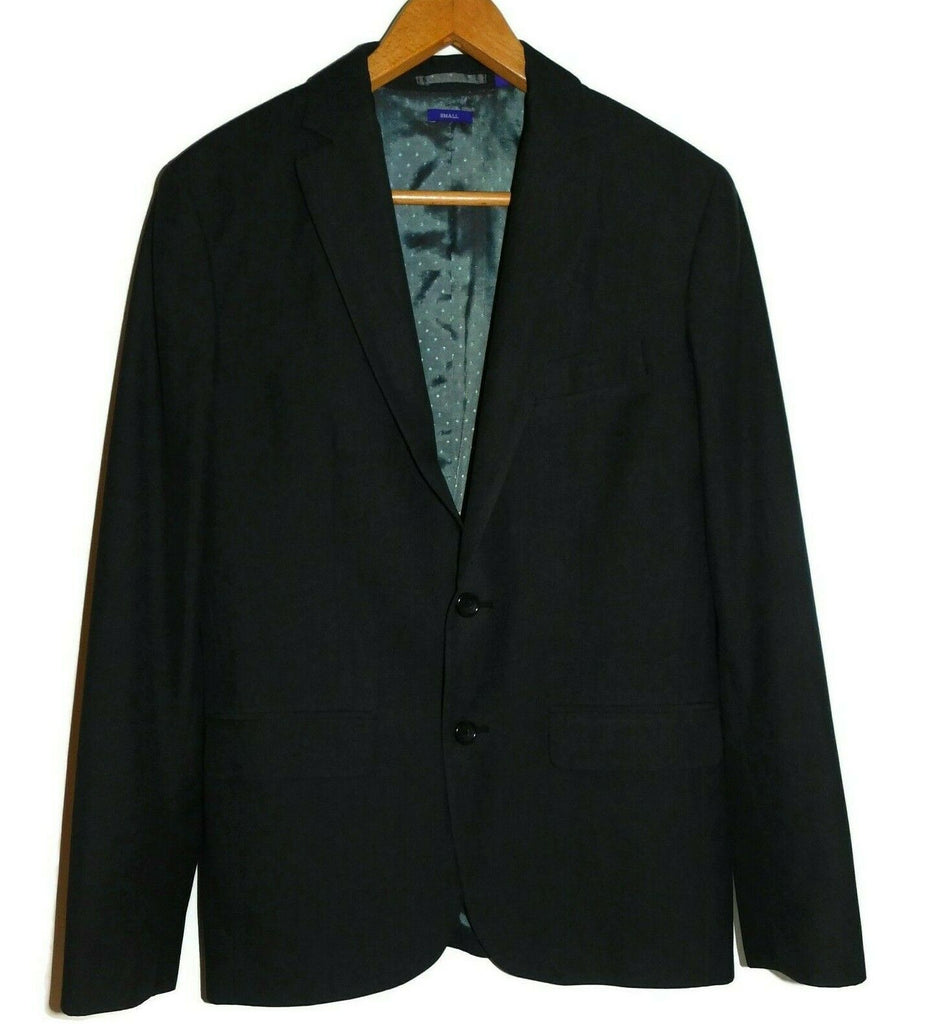 Men American Rag CIE 1984 Suit Jacket Small Charcoal Gray