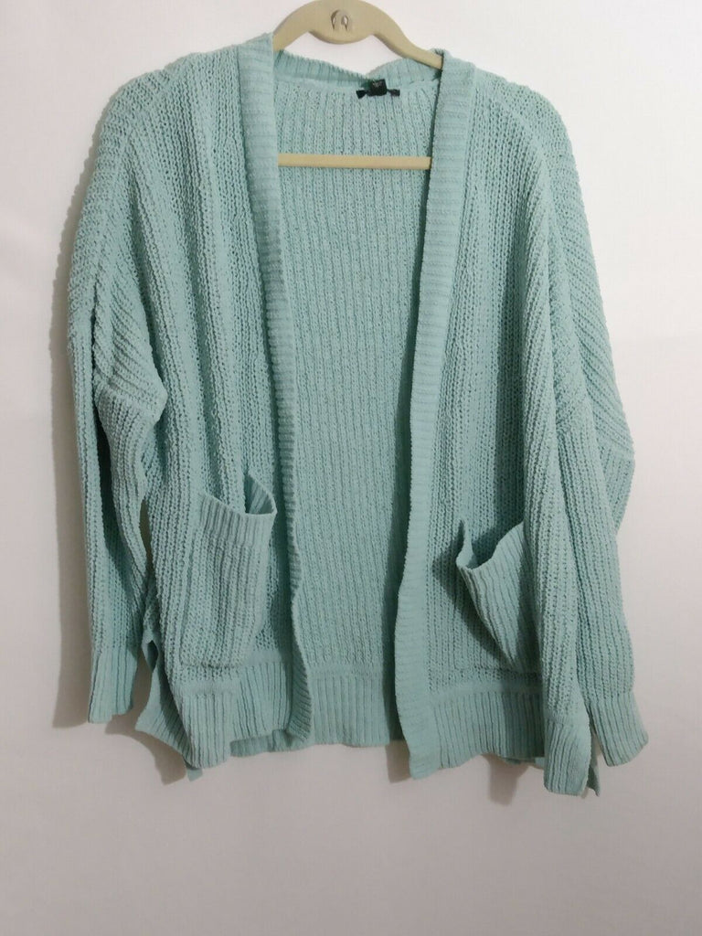 Wild Fable Women's Long Sleeve Open Oversized Cardigan - Pale Mint Sm MSRP $26