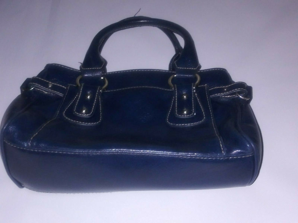 St Johns Bay Mini Navy Blue Handbag With Multiple Compartments Pre-owned Women