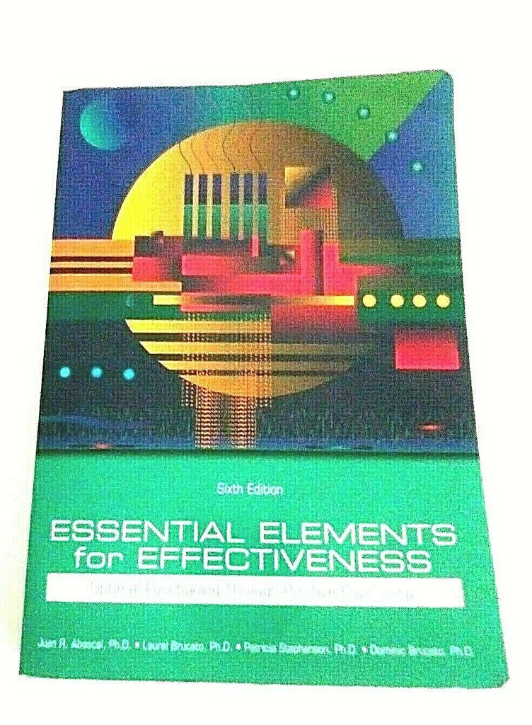 Essential Elements for Effectiveness Sixth Edition (Psychology) Pre-owned