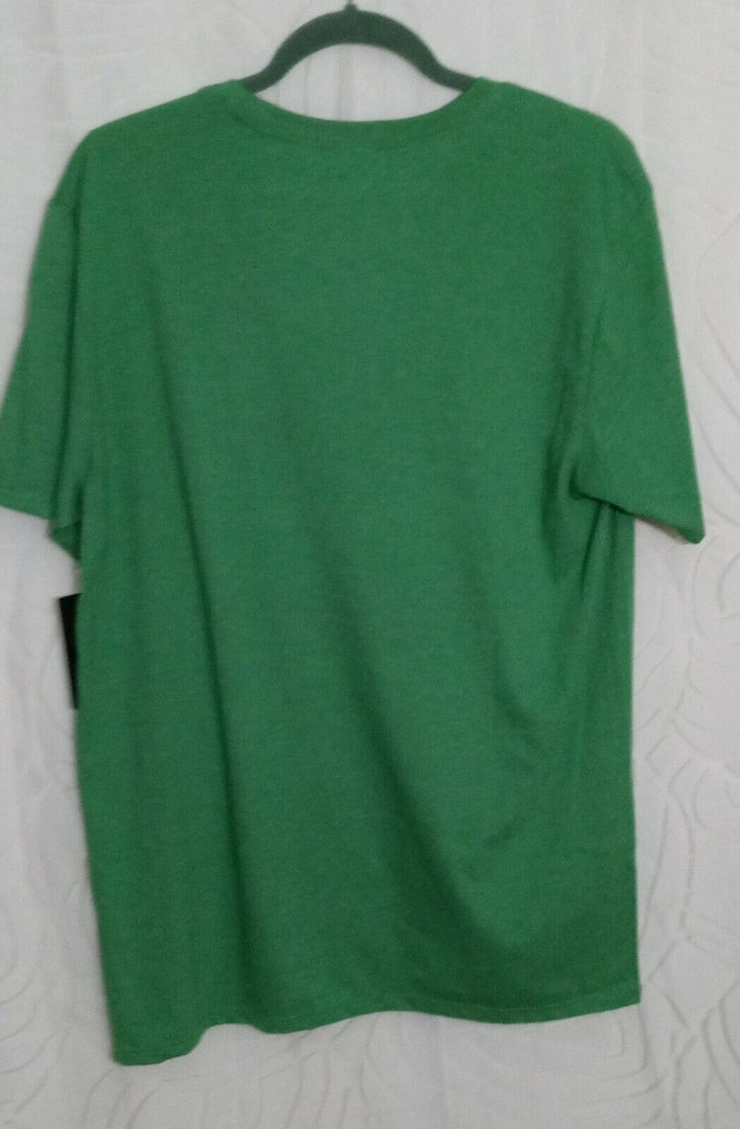 Hurley 'X' Men's Graphic Print T-shirt Medium in Clover Green MSRP $26