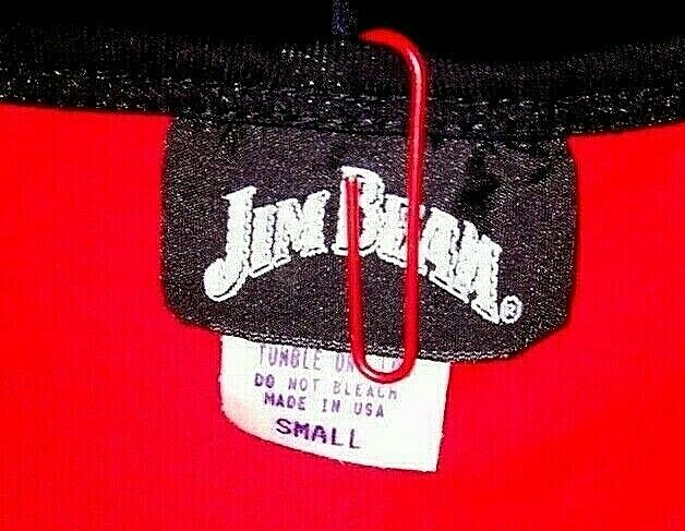 Jim Beam Racing Tank Top Small Teen Girls Women Small