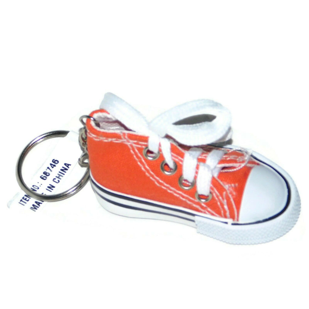 Unbranded Upper Laceup Keychain Sneakers Keyring Charm For Women Girl