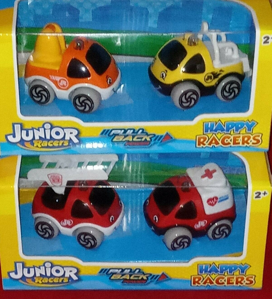 NKOK: Junior Racers PULL BACK Powered Happy RACERS (For Ages 2+)