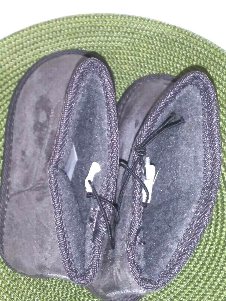 Shoes of Soul Girls' Fleece Lined Booties Size 11 Gray