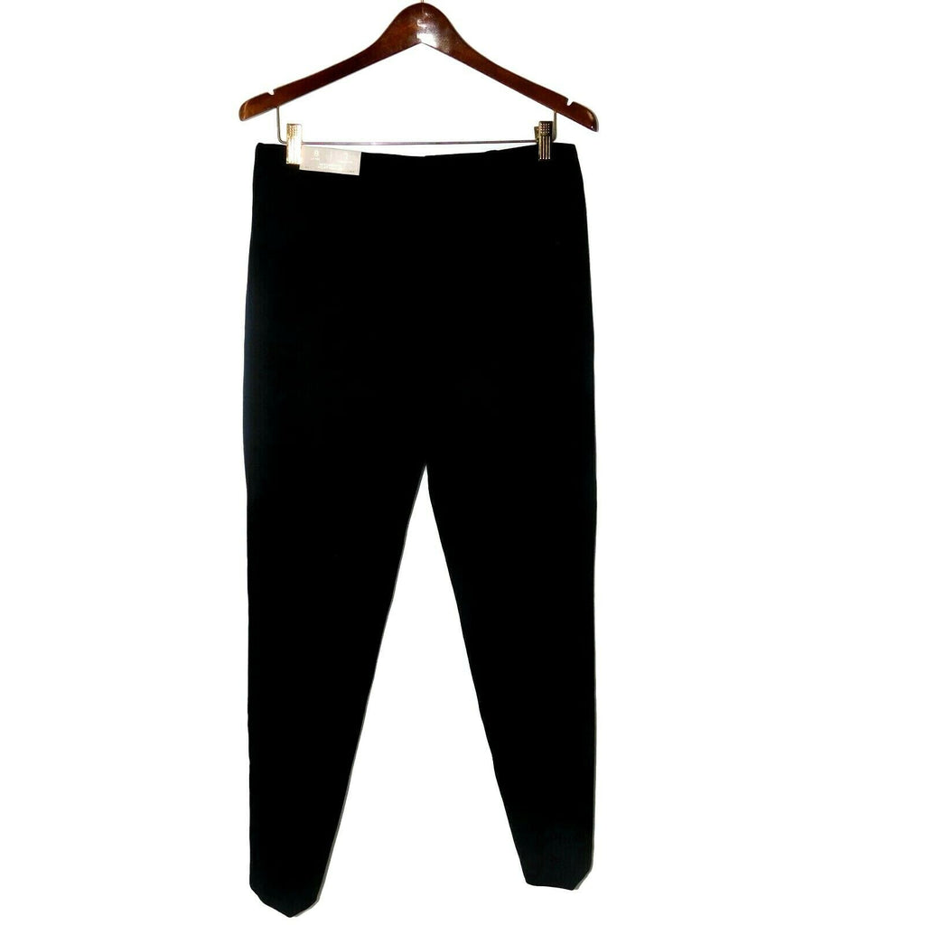 Chico's So Slimming Juliet Ankle Pants Basic Black Elastic Waist Size 8 US
