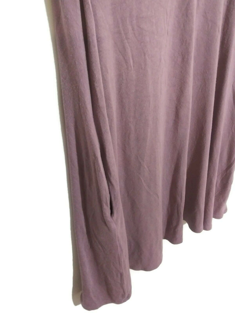 Socialite Women's Pocket Tank V-neck Dress Small Lilac