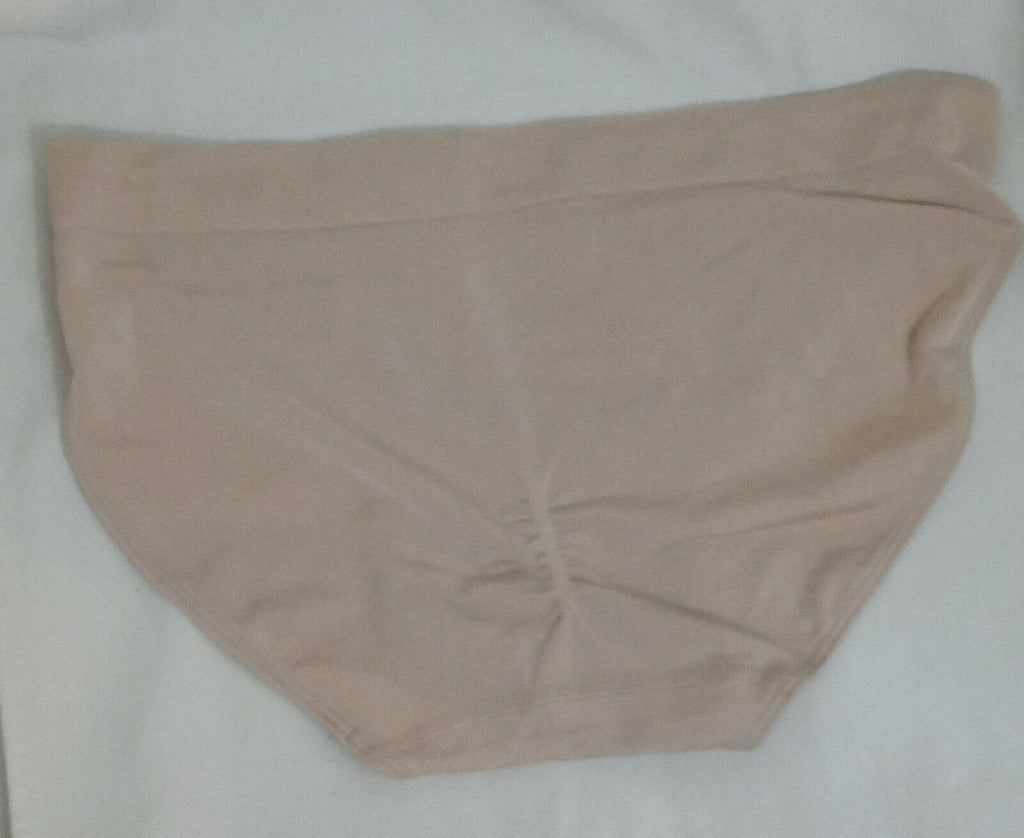 Wacoal Women's B-Smooth Seamless Bikini Panties Taupe XL MSRP $15 Hipster Nude