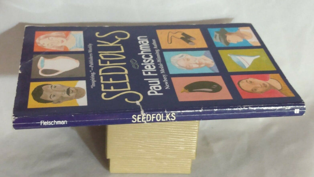 Seedfolks by Paul Fleischman (2004, Trophy Edition Paperback)