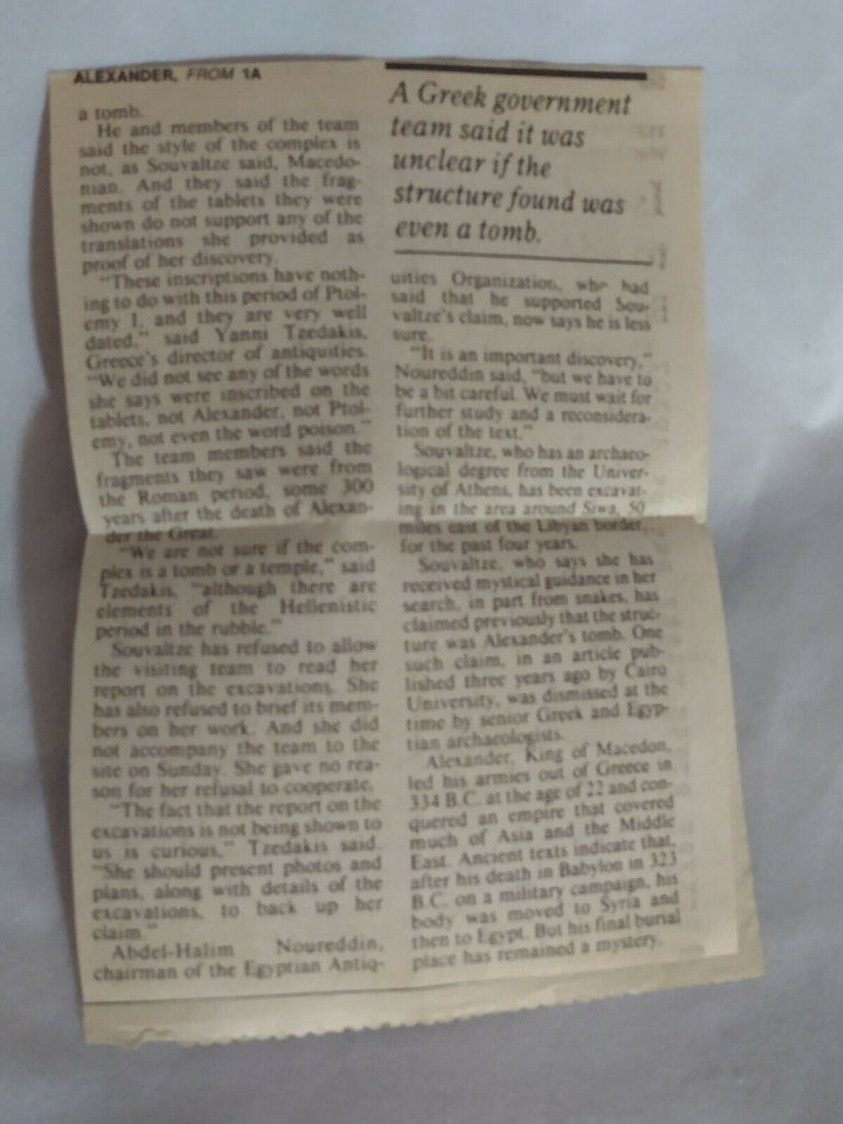 The Persian Boy Paperback 1982 by Renault Mary with Newspaper Clippings