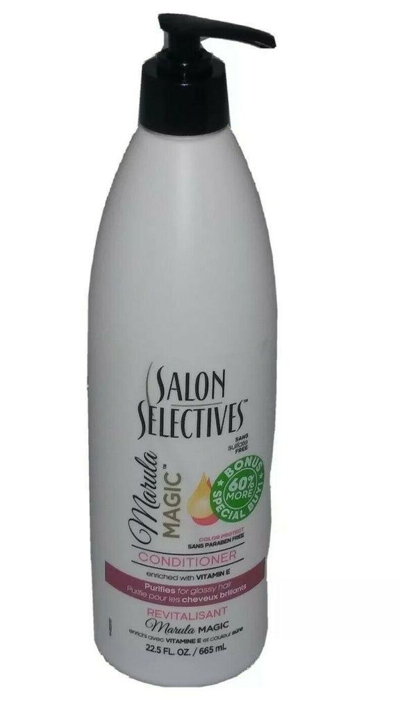 Salon Selectives Marula Magic Vitamin E Color Protect Conditioner 22.5 FL OZ - STEPSHEY