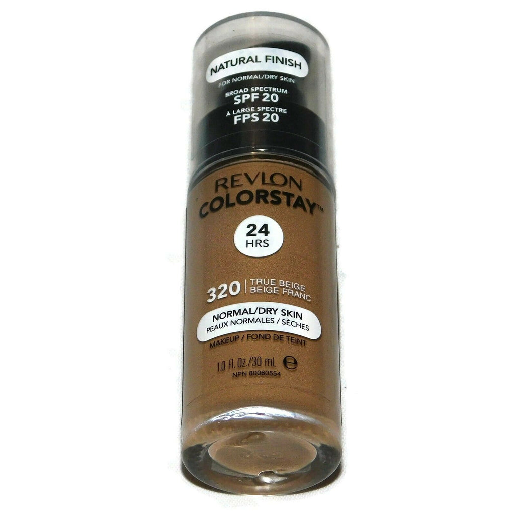 Revlon Colorstay Natural Finish Normal/Dry Skin MakeUp True Beige 1 Fl Oz SPF 20