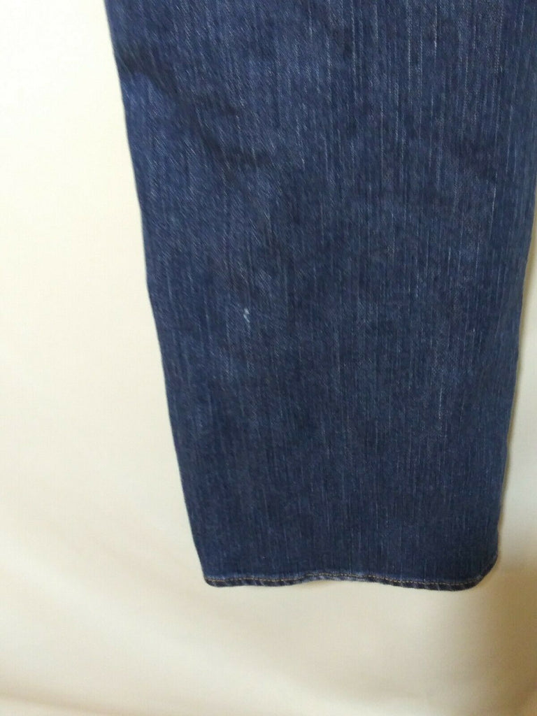 New York & Company Women's Curvy Low Rise Bootcut Jeans Pants Size 6 Blue