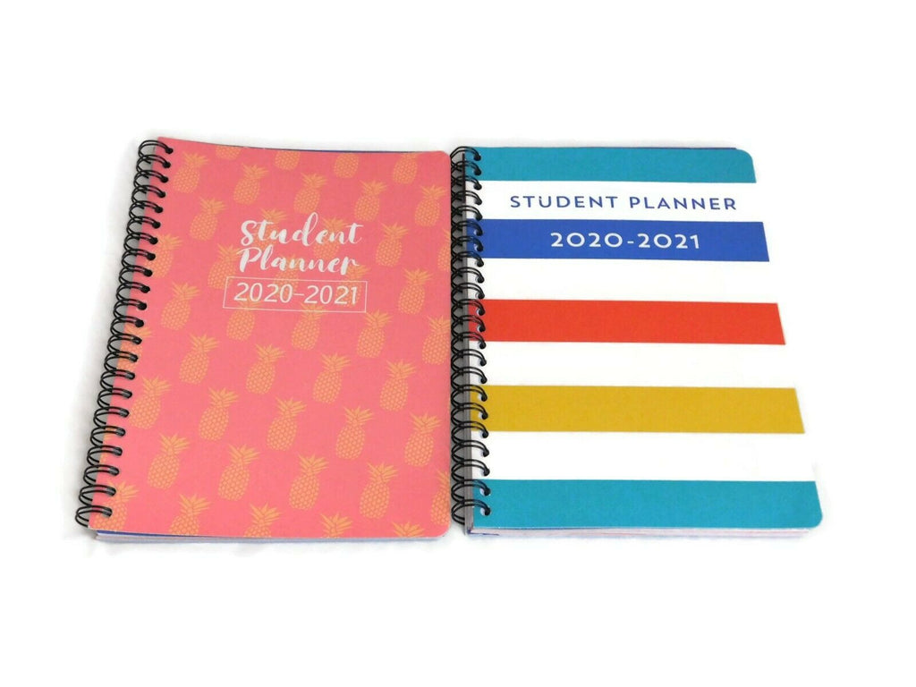 2020-2021 Academic Calendar Planner Monthly Daily Monthly Side Notes Months View