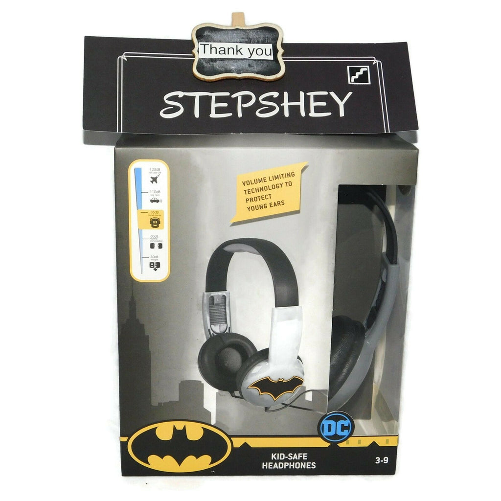 Kid Safe Headphones With Volume Limiting Technology Ages 3-9 Various Characters