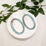 Ellipse Hoops - Ocean