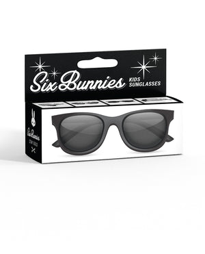 Six Bunnies Kids Wayfarer-Black