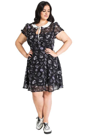 Hell Bunny Elspeth Mini Dress-Black