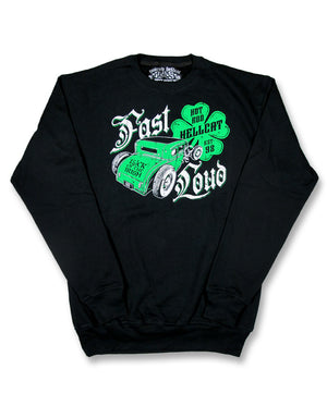 Hotrod Hellcat Irish Crew Jumper