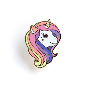 Lux Cups Creative Rainbow Unicorn Enamel Pin