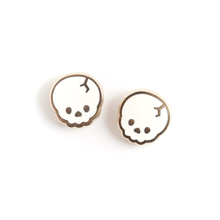 Lux Cups Creative Skull Earrings