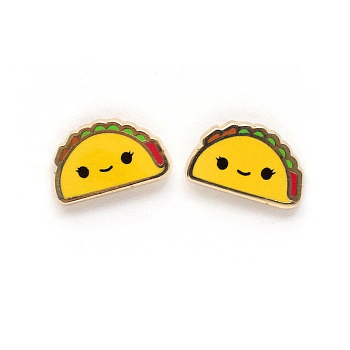 Lux Cups Creative Taco Earrings