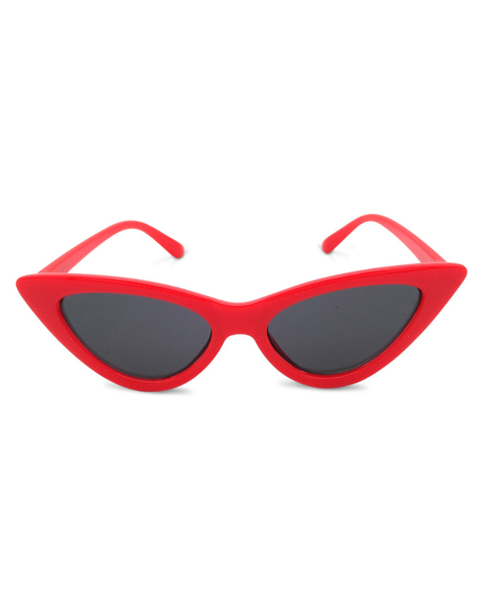 Six Bunnies Kids Red Cat Eye Sunglasses