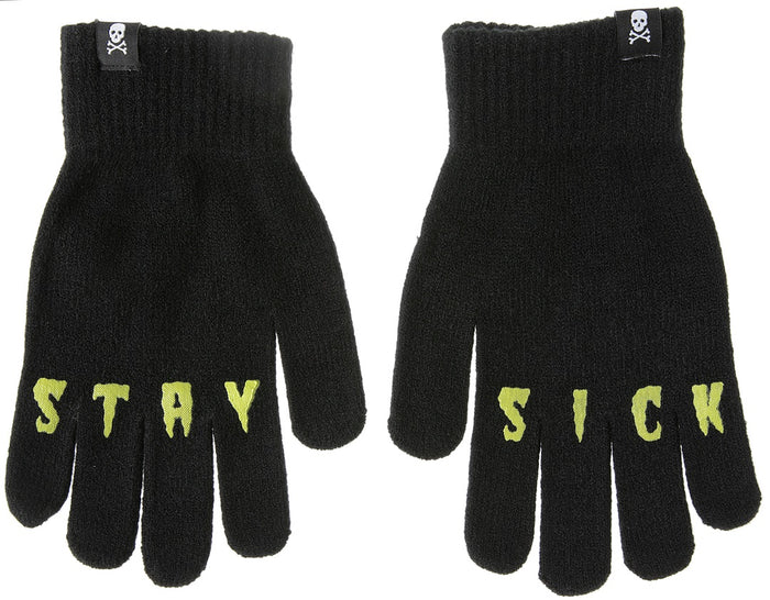 Sourpuss Stay Sick Knit Gloves-Only 1 pair left!!!