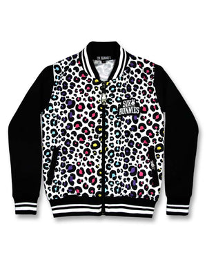 Six Bunnies Candy Bomber Jacket-Kids