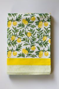 Citron Tablecloth