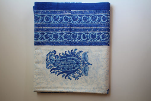 Imperial Blue Tablecloth (4.9x8.2 ft)