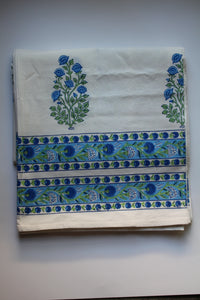 Bluebird Day Tablecloth (4.9x8.2 ft)