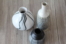 Load image into Gallery viewer, Zebra Vase