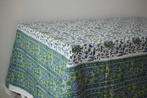 Green Pastures Tablecloth