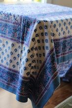 Load image into Gallery viewer, Indigo Tablecloth (5.5x8.6 ft)