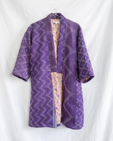 Vintage Kantha Kimono Coat - Fall/Winter 2019, no.8