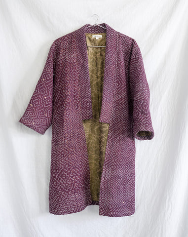 Vintage Kantha Kimono Coat - Fall/Winter 2019, no.11