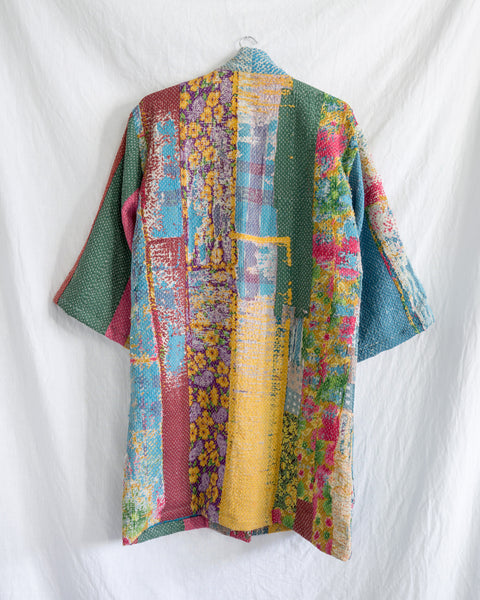 Vintage Kantha Kimono Coat - Fall/Winter 2019, no.1
